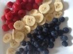 hallon/banan/blåbär